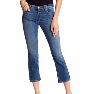 J Brand Selena crop bootcut in Ascension